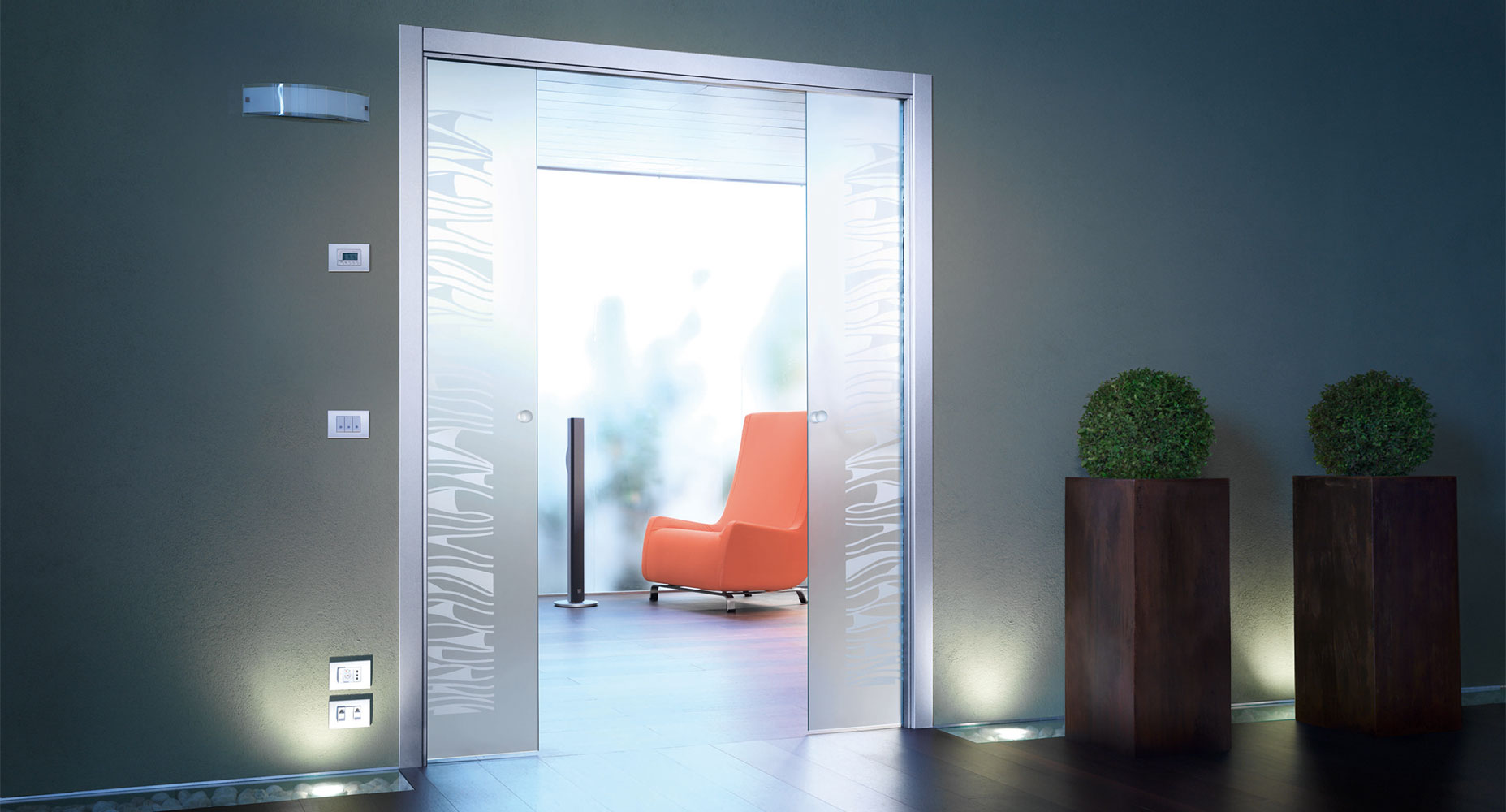 Sklenené-dvere