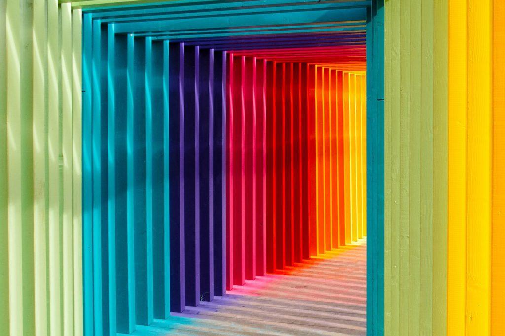 Psychológia farieb farebné zladenie interiérových dverí s ostatnými prvkami - Barvy interiéru