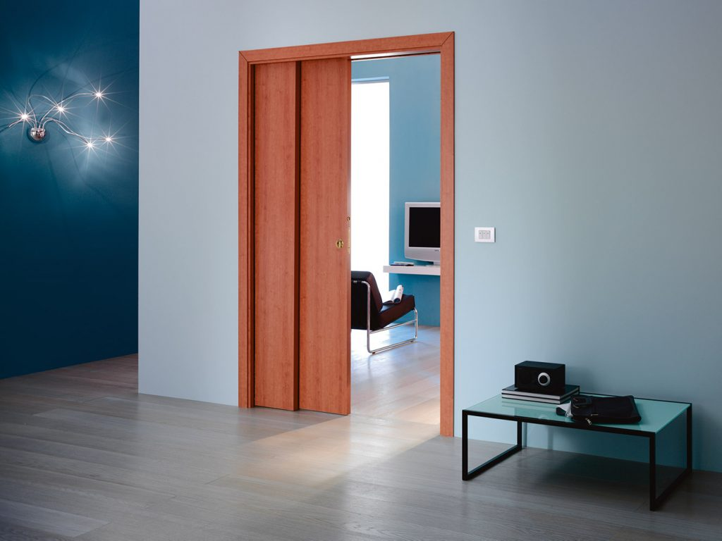 Psychológia farieb farebné zladenie interiérových dverí s ostatnými prvkami - Eclisse TELESKOPICKE