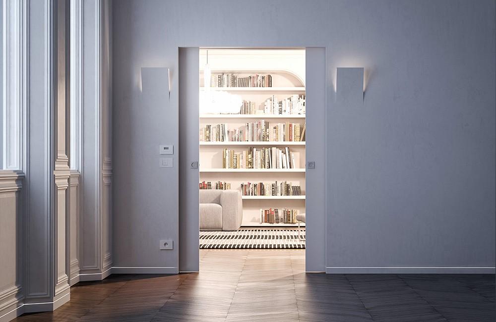 Všetky novinky na tému dverí, dvierok a podlahových lišt zarovno s múrom - Syntesis luce