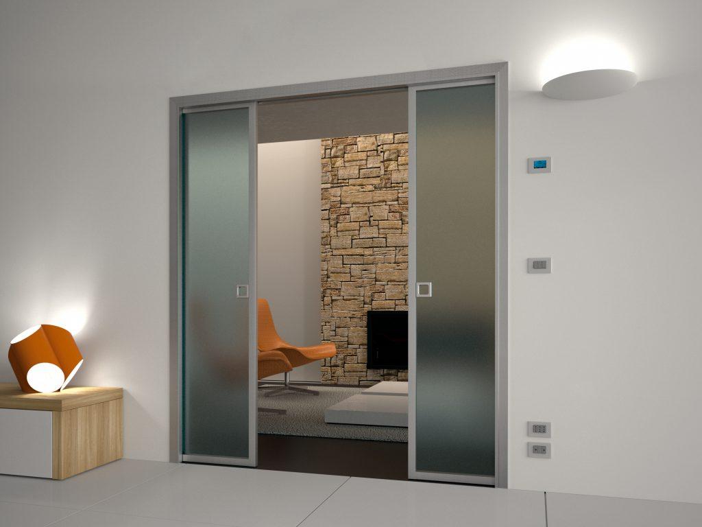 Výhody celosklenených dverí - Posobia elegantne